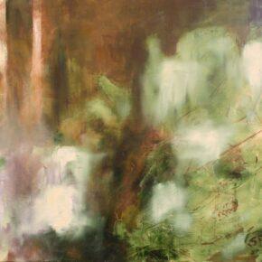 Serena è la notte d'aprile - oil on canvas